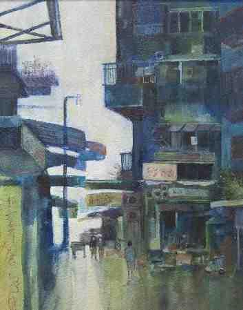 Wanchai Back Street